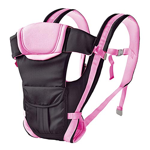 Beinhome Baby Carrier, 360° Ergonomic Baby Backpack Carrier - Infant Flip 4-in-1 Convertible Carrier - Adjustable Waistband - Comfortable & Safe Multi-Position for Infant Baby Toddler