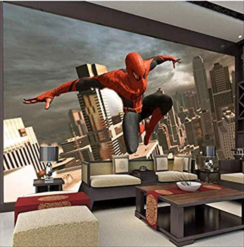 pas cher un bon Papier Peint Mural Spider-Man Papier Peint Superhero Photo Papier Peint 3D Wallpaper Boy S Chambre…