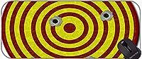 ステッチエッジ、ターゲットバットショット付きのゲームマウスパッド、ステッチエッジ付きガン弾丸弾丸マウスパッド