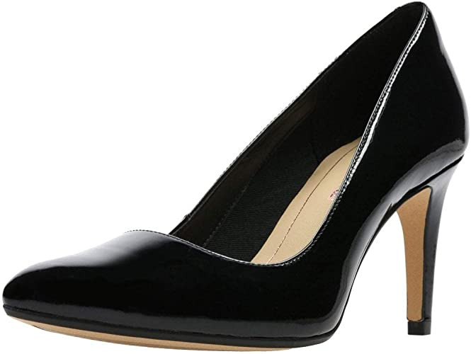 TALLA 39 EU. Clarks Laina RAE, Zapatos de Tacón Mujer