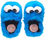 ✅ Pantuflas azules del monstruo de las galletas