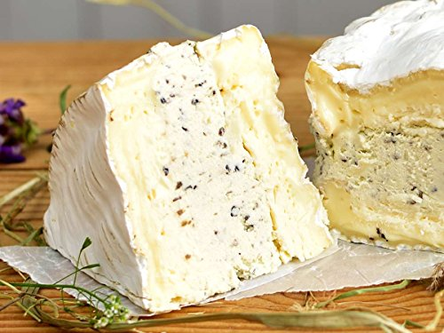 Trüffelbrie - Eigene Herstellung - Brie mit Trüffel