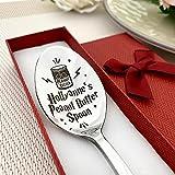 Linda cuchara de mantequilla de maní personalizada con nombre, regalo personalizado grabado – cuchara de regalo de cumpleaños (estilo Potter)