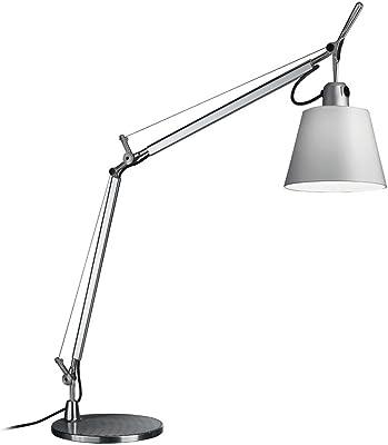 Artemide Tolomeo lámpara de mesa (E27, 70W, aluminio/Raso