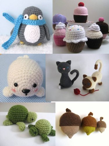 Bubbly the Baby Seal amigurumi pattern by Smartapple Creations ... | 500x375