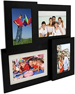 Pandigital PAN7004MU01 7-Inch Multi Frame Collage Digital Picture Frame (Black)