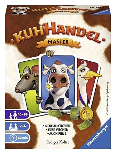 Ravensburger Kartenspiele 20752 - Kuhhandel Master
