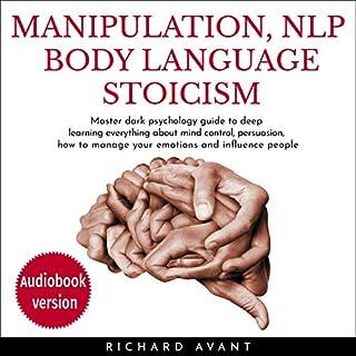 Manipulation, NLP Body Language Stoicism audiobook cover art