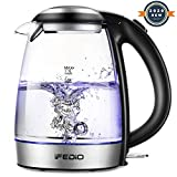 Best Glass Electric Kettles - iFedio Electric Kettle 1.7L Cordless Glass Water Boiler Review