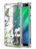 Oihxse Cristal Compatible con Sony Xperia 10plus Funda Transparente TPU Silicona Estuche Airbag...