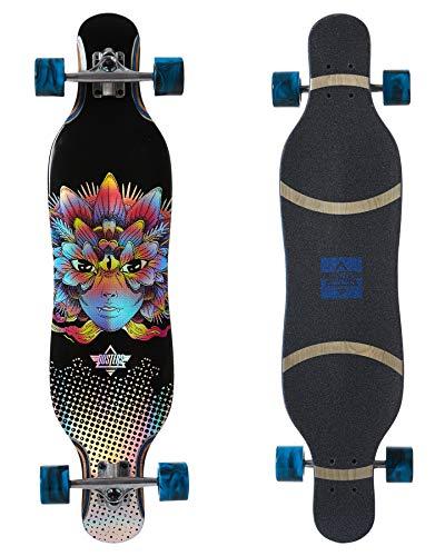 Dusters Fleur Longboard Longboard Blau 96,5 cm