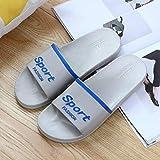 Nwarmsouth Zapatillas de Masaje para Mujer, Zapatillas de baño para baño, Sandalias Antideslizantes para el hogar-2 Gray_40-41, Zapatillas para Mujer/Hombre