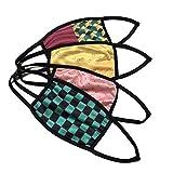 【STORAGE BOX マスク4枚セット】 大人用 マスク 和柄 布マスク ポリウレタンマスク 1パック 4種類入り クールマスク 詰め合わせ 快適 洗える 伸縮 接触冷感 仮装グッズ コスプレ 個別包装 飛沫防止 種類 鬼 滅