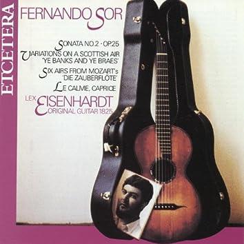 Fernando Sor, Guitar Works