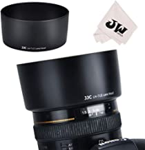 JJC Reversible Bayonet Lens Hood Shade for Canon EF 50mm F1.4 USM Lens Replaces Canon Lens Hood ES-71II ES71II