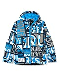 Quiksilver Mission Printed-Chaqueta para Nieve para Niños 8-16, Brilliant Blue isere Point, M/12