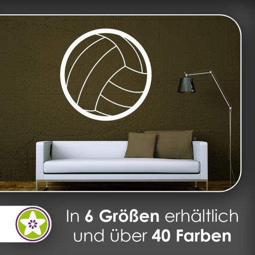 Kiwistar Handball Wandtattoo in 6 Größen - Wandaufkleber Wall Sticker