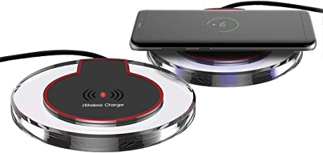 Universal Wireless Charging Pad Compatible with Newer iPhone and Android