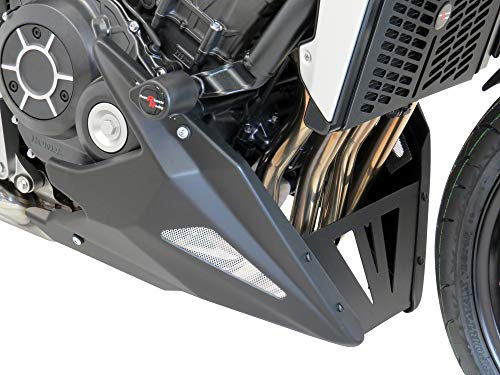 Powerbronze KAWASAKI Z900 17-19 Black-Silver Mesh Belly Pan