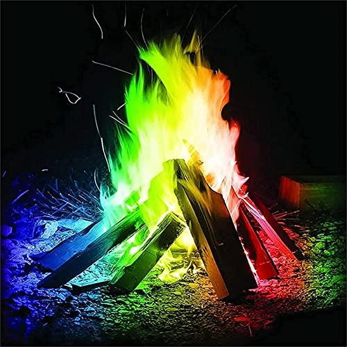 炎 - 着色剤10ポーチボックス、25グラム、マルチカラー