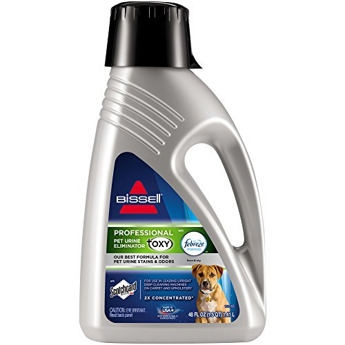 BISSELL Professional Pet Urine Elimator with Oxy and Febreze Carpet Cleaner Shampoo