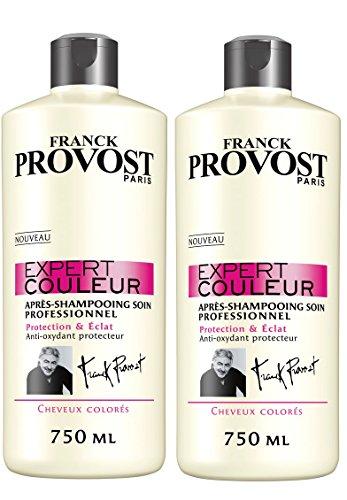 Franck Provost–Expert color Acondicionador Cuidado Profesional Protección & Eclat–750ml–juego de 2