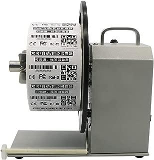 100-240V Auto-Sync Label Rewinder Two-Way Speed Regulation Label Rewinding Machine (Maximum Label Width 90MM)