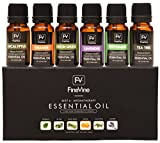 Aromatherapy Top 6 Essential Oils Gift Set - 100% Pure Premium Therapeutic Grade - Lavender, Tea...