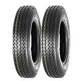 MaxAuto Trailer Tires 5.30-12 5.30x12 6PR Load Range C P811, Set of 2