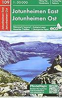 Jotunheimen Ost, Wander - Radkarte 1 : 50 000