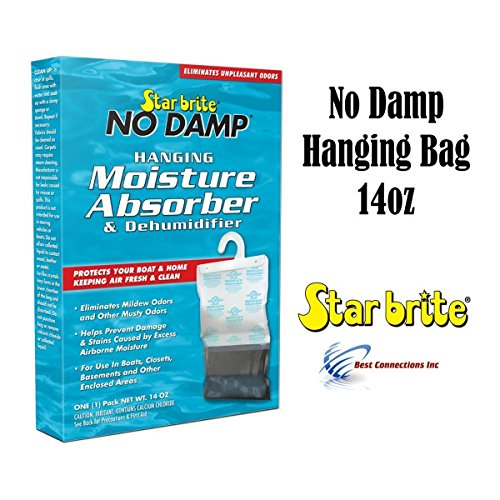 Review Of Star Brite 85470 NO DAMP HANGING MOISTURE ABSORBER & DEHUMIDIFIE
