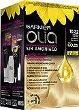 Garnier Olia coloración permanente sin amoniaco para un olor agradable con aceites florales de origen natural - Dorado Platino 10.32 271 g