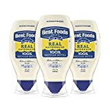 Enjoy the creamy, delicious taste of Best Foods Real Mayonnaise, a naturally gluten-free condiment in a convenient real mayo squeeze bottle This gluten-free mayo is made with real, simple ingredients like 100% certified cage-free eggs, oil and vinega...
