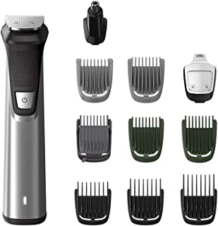 Philips Series 7000 11-in-1 Ultimate Multi Grooming Kit for Beard, Hair and Body with Nose Trimmer Attachment, Premium Met...