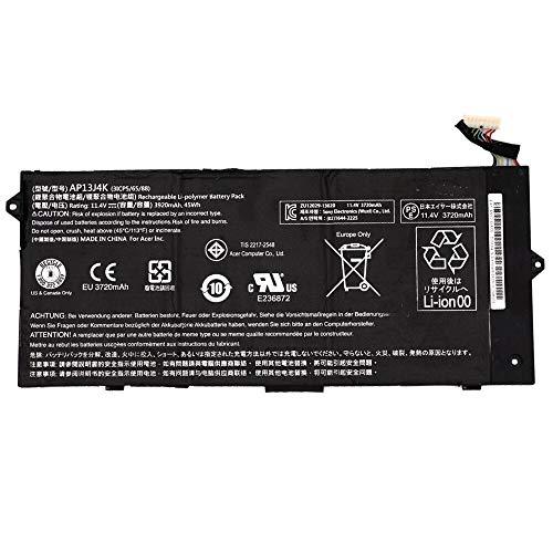 Szhyon Fit for New Laptop Battery AP13J4K AP13J3K 11.4V 3920mAh Fit for Acer Chromebook C720 C720P C740 C720-2844 C740-C5U9 ZU12029-13020