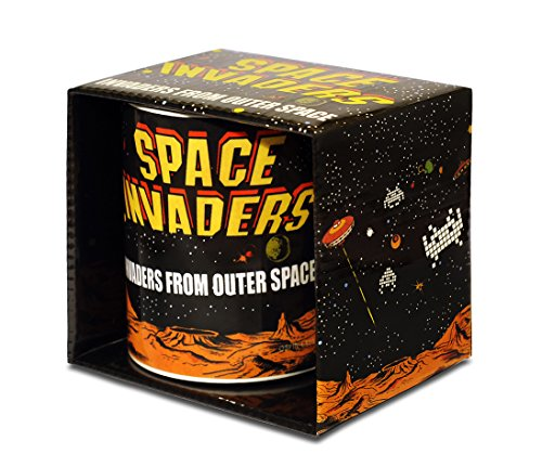 Space Invaders Official Coffee Mug, Boxed