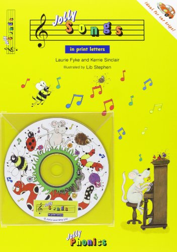 Jolly Songs: Book & CD in Print Letters (American English Edition) (Jolly Phonics)