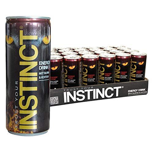 Instinct® Energy Drink Dosen Getränke 24er Palette, EINWEG (24 x 250 ml) inklusive Pfand