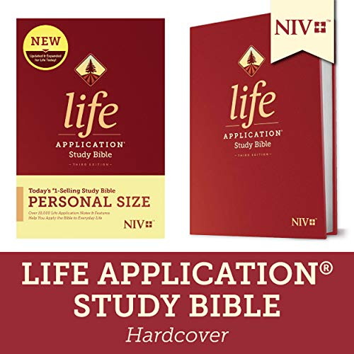Compare Textbook Prices for NIV Life Application Study Bible, Third Edition, Personal Size Hardcover Expanded, Updated Edition ISBN 9781496440112 by Tyndale
