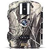 Trailwatcher Caméra de Chasse 16MP Trail Camera Animaux Caméra Imperméable IP65 Piège...