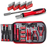 Hi-Spec 38 Piece Repair & Opening Tool Kit Set with Precision Screwdriver Bits for Electronics & Computers, Mobile Smart Phones,...