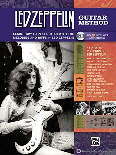 Led Zeppelin Guitar Method: Immerse Yourself in the Music and Mythology of Led Zeppelin as You Learn to Play Guitar [With CD (Audio)] [Lingua inglese]