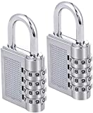 Best Luggage Locks - ZHENGTU Bag Lock Combination Number Locks for Door Review
