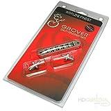 Grover–Tune-O-Matic–Puente para guitarra eléctrica–níquel–modelo 520N