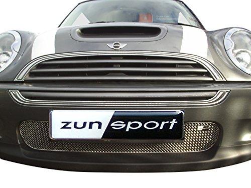 Zunsport Kompatibel mit Mini Cooper S R52 & R53 - Kompletter Grillsatz - Silbern (2001 bis 2006)