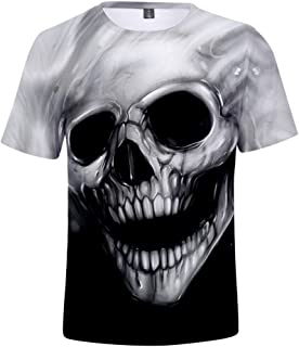 Camiseta Colorida Flor impresión 3D Camiseta Anime Ropa gótico Hip Hop Ropa para Hombre