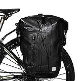 SunTime Gepäckträgertaschen Wasserdichte Fahrradtasche Rücksitz Koffer Tasche Bike Cargo Pack Schultergurt Tasche Handtasche Outdoor Reise Tote 25L
