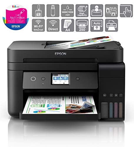 Epson EcoTank ET-4750 A4 Print/Scan/Copy Wi-Fi Printer