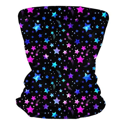 Zarupeng Bandana, naadloze sjaal, mondbedekking, multifunctionele outdoor-hoofdbedekking, bandana, sport tube, zonwerend gezichtsmasker voor workout, wandelen, paardrijden