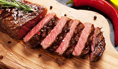 Creekstone Farms Natural Prime Boneless Strip Steaks (Twelve 12 oz....